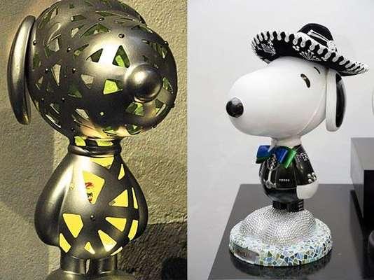 Snoopy llega al Museo Mexicano de Diseño (Mumedi) en el Centro Histórico gracias a la exposición 'Mover Vidas Creando Arte', organizada por Peanuts Worldwide, EXIM México y MetLife México.