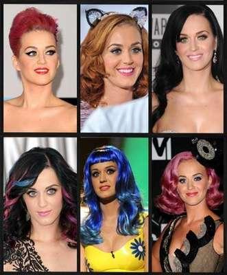 Katy Perry es una de las celebridades más versátiles y de las que más se arriesga en cuanto a su cabello se refiere ya sea en su cabello natural, con extensiones, pelucas, cortes y colores fuera de lo común, que la hacen lucir fantástica. Aquí algunos de sus mayores aciertos.