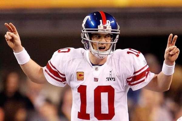 Eli Manning el Quarterback de los Giants fue pieza fundamental en el triunfo de su equipo.