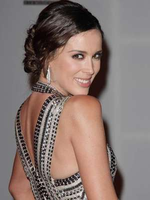 Jacqueline Bracamontes was enchanting with her sharp shoulders and elegant beauty.
