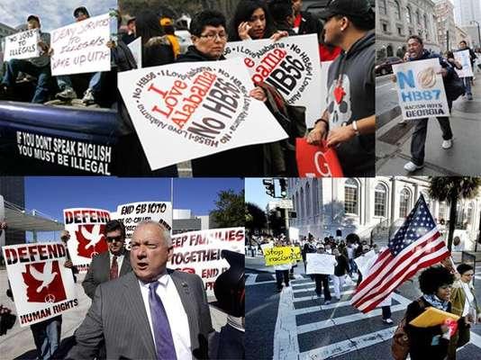 Pese a que los indocumentados en Estados Unidos tienen esperanzas por el rechazo de 20 estados de las leyes antiinmigrantes, otros seis sí las aprobaron, aunque no han podido ser aplicadas plenamente, porque están demandadas.