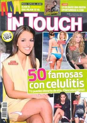 La revista In Touch publica, en exclusiva, las fotos que confirman que Chenoa ha vuelto con Curi Gallardo