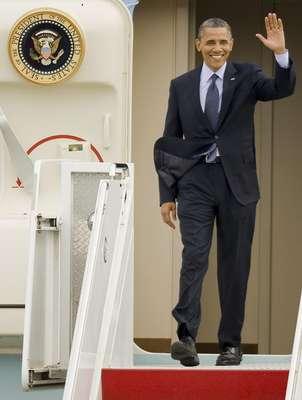 Barack Obama, el presidente de Estados Unidos, llegó a Cartagena para participar en la VI Cumbre de las Américas, la segunda para él, después de una breve visita a Florida, en la que subrayó la importancia de las relaciones comerciales con América Latina.