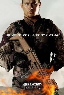 """La película del realizador Jon Chu, que será estrenada en Estados Unidos el 29 de junio, ha revelado los afiches de sus personajes. De la mano de Paramount Pictures, """"G.I. Joe: La venganza"""" da a conocer ocho diferentes carteles. Aquí Channing Tatum como Duke."""