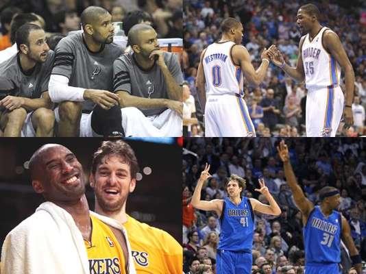 Conferencia Oeste de NBA tiene sus ocho invitados a playoff.