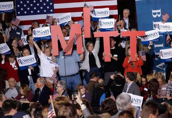"""Mitt Romney barrió en Connecticut, Rhode Island, Delaware, NY y Pensilvania y se consolida como el virtual contrincante de Barack Obama. Con eso en cuenta trata de convencer a los electores de que con él habrá """"Un EE.UU. mejor"""". Vea dónde más ganó."""
