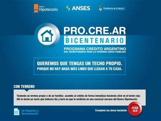 El primer paso se deberá dar a través del portal de la Anses, donde se habilitó un aplicativo para iniciar el trámite. Para completar la gestión, habrá que recurrir a la sucursal del Hipotecario más cercana a su domicilio.