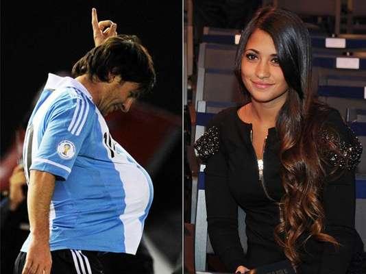 Como todos, los grandes futbolistas tienen derecho a encontrar el amor. En el caso de Lionel Messi, la afortunada es la bella Antonella Roccuzzo, quien convertirá a la 'Pulga' en padre en octubre. A continuación, te contamos cómo ha sido su historia de amor.