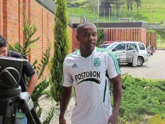 Dorlan Pabón se va después de jugar dos años con Nacional.