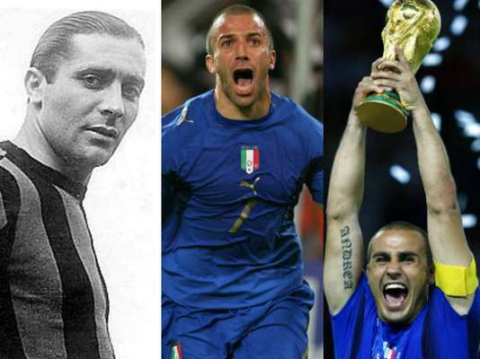 Italy is in one more final of the Euro, where it will face Spain and what a better motive to remember the players that have made the team legendary.