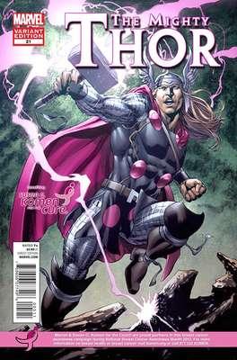 Thor, Iron Man, el Capitán América y los X-Men se vestirán de rosa como parte de un acuerdo entre la Fundación Susan G. Komen y Marvel Comics y para conmemorar el Mes Nacional para la Prevención de Cáncer de Mama en Estados Unidos, en octubre.