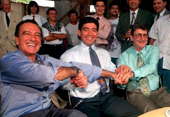 """He is one of the greatest players of all time, but as a coach he left a lot to be desired. That's Diego Armando Maradona. We take you though his career as manager after he was let go by his most recent club Al Wasl in the United Arab Emirates. After coaching minnows Deportivo Mandiyu in Argentina in 1994, """"Pelusa,"""" as he was affectionately known, also coached Racing Club in his home country in 1995."""