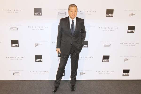 Mario Testino hizo imponer el glamour con los invitados a la inauguración de MATE, su Asociación Cultural.