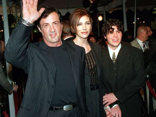 "Sylvester Stallone's 36-year-old son, Sage Moonblood Stallone, was found dead in his Los Angeles area home in July 2012. Initial investigations by the Los Angeles County coroner's department stated there weren't signs of foul play in his death. Sage's attorney, George Braunstein, said a housekeeper found his body at the home. Sage, the oldest of Sylvester's children, co-starred with his dad in two films: 1990's ""Rocky V"" and 1996's ""Daylight."""