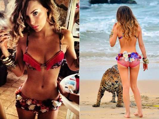 """Mexican singer Belinda parades around in a wee bikini for her new clip """"En El Amor Hay Que Perdonar,"""" using the oldest (and most effective) method to get attention. Let's take a look at other singers who have done the same with super sexy results."""
