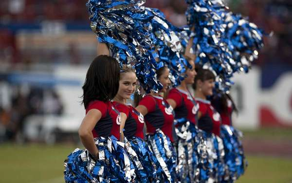 First Week: Beautiful cheerleaders added joy and spice to the first round of the Apertura 2012 Liga MX.