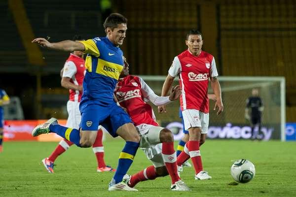 Boca Juniors dispuso de una nómina suplente para enfrentar a Independiente Santa Fe, en juego que terminó ganando el rojo con anotación de Edwin Cardona.