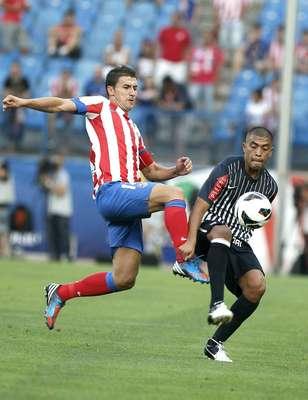 Alianza Lima perdió 0-3 ante Atlético de Madrid en la presentación del cuadro español