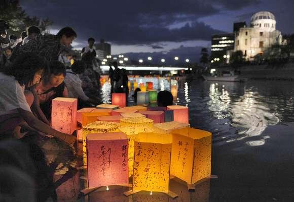 Hiroshima recordó hoy a las víctimas de la bomba atómica.