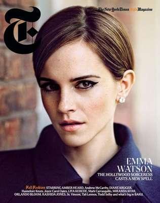 A atriz Emma Watson, que começou a carreira com apenas nove anos, em Harry Potter, confessou que usa a moda para criar sua própria identidade, fora de seu papel como Hermione. As informações são da revista People