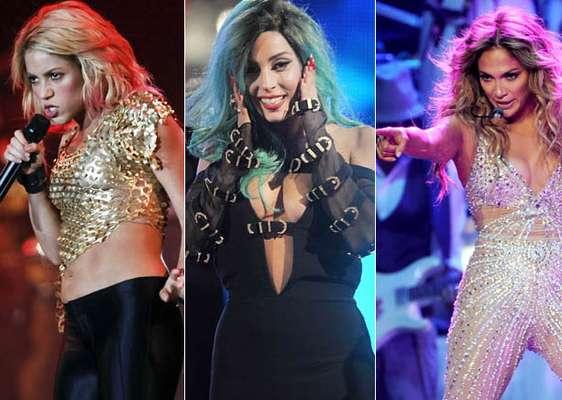 Shakira, Lady Gaga, Jennifer López y Beyoncé, además de ser unas bellas cantantes, figuraron en la lista de las mujeres más poderosas del planeta elaborada por la prestigiosa revista especializada Forbes. Las sensuales divas se han ubicado dentro del ránking junto a damas de la política internacional, presentadoras de TV, modelos y actrices.