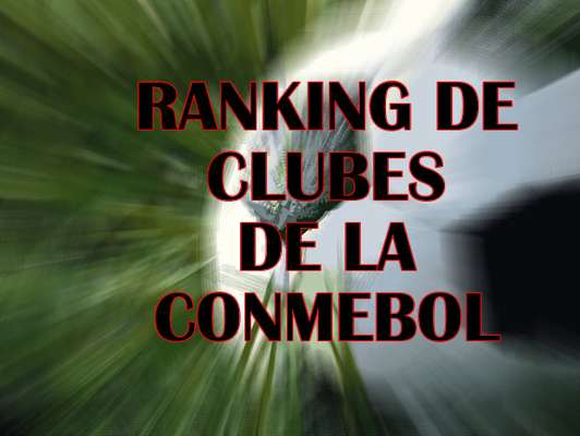 La renovada clasificación contempla las participaciones de los equipos sudamericanos y mexicanos en las últimas cinco ediciones de los torneos oficiales de la Confederación Sudamericana de Fútbol. Hay sólo dos chilenos entre los primeros 15.