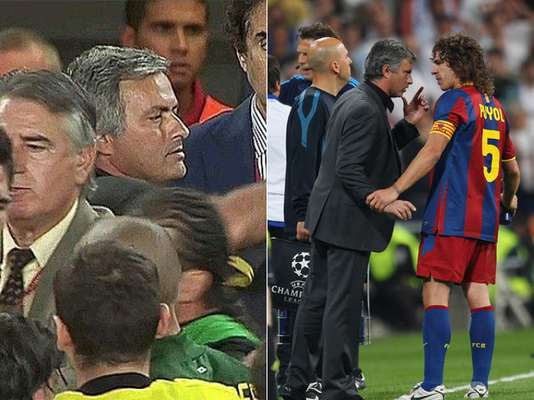 Besides being one of the most successful managers, Jose Mourinho is also known for his outsbursts, controversial statements about other managers, and occasional violent actions. Here are some of those moments: