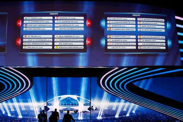 Mónaco recibió a la crema y nata del futbol europeo para el sorteo de la fase de grupos de la UEFA Champions League