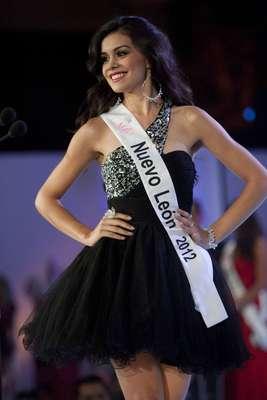 Ella es Cynthia Duque Garza, quien al obtener el título de Nuestra Belleza México 2012, ganó también el honor de representar al país en el certamen internacional de Miss Universo en el 2013.