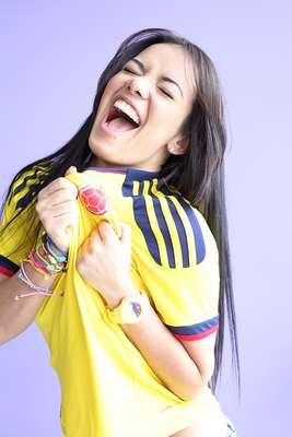 La ex participante de Protagonista de Novela, Elianis Garrido, habló con Terra sobre su pasión por la Selección Colombia, previo al duelo en el que el combinado patrio se enfrentará con Chile.
