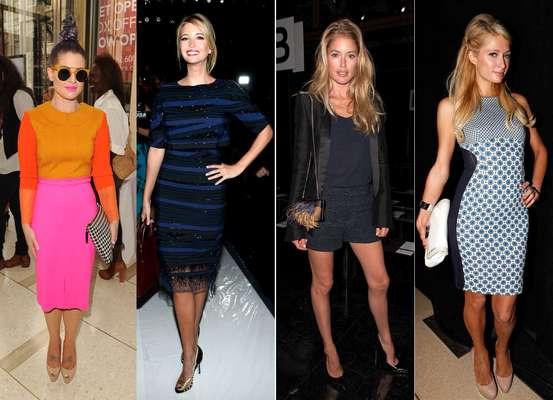La semana de la moda de Nueva York atrae a una serie de celebridades de todo el mundo. Nadie se quiere perder el evento pues es el escaparate perfecto para dejarse fotografiar y aparecer en todas las portadas de las revistas de moda. ¡Descubre quiénes estuvieron ahí!