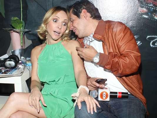 Si Yordi Rosado quería ligarse a Erika Zaba, parece que su estrategia no estaba funcionado para nada.