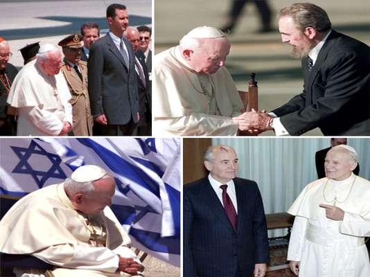 Varios son los países que parecían estar vetados para el Vaticano, debido a conflictos políticos y religiosos que no comparten principios cristianos o católicos. Entre éstos, se encuentran los comunistas como Cuba, China y naciones de la ex Unión Soviética, así como también países musulmanes, localizados en su mayoría en Medio Oriente.
