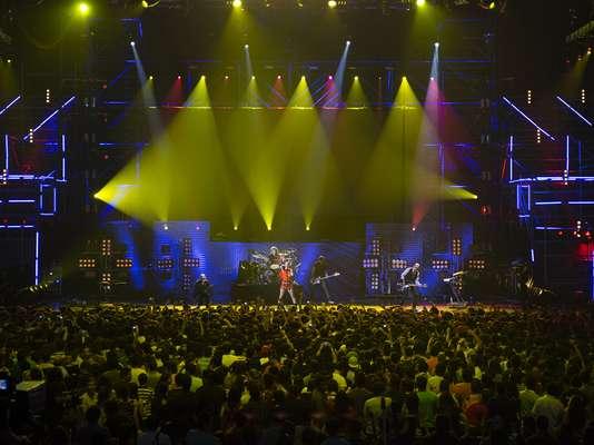 Garbage cumplió con el público de Monterrey, Nuevo León, ciudad que Shirley Manson y compañía pisaron por primera vez. Tanto la banda que se formó en 1994 como Linkin Park se encargaron de amenizar la fiesta del MTV World Stage en México.