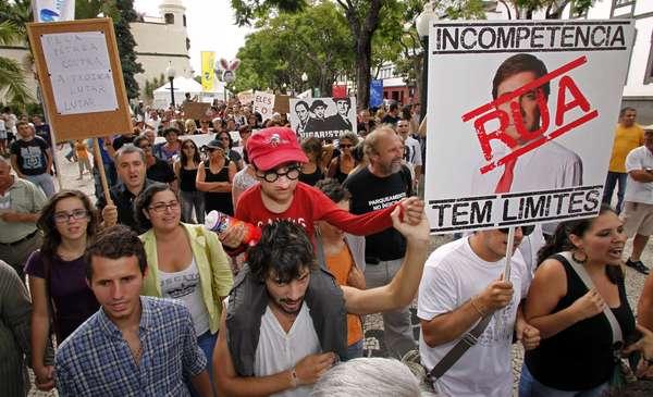 Portugal ha vivido este sábado una jornada de manifestaciones contra las medidas de austeridad del Gobierno.
