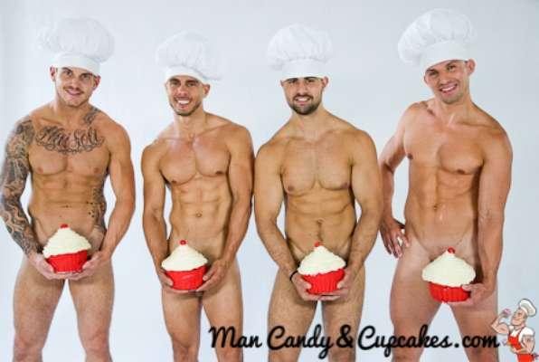 POR DF. Integrar hombres guapos y cupcakes es una de las mejores ideas que se han suscitado recientemente y no podemos negarlo, es una atractiva oferta. Se trata del nuevo libro de Babe Scott, mejor conocida como The Lazy Hostess: 'Man Candy & Cupcakes'.