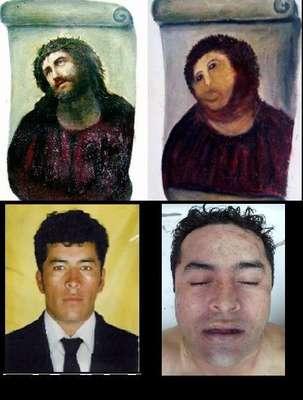 """Tras la muerte y el robo del cadáver del líder fundador de Los Zetas, Heriberto Lazcano Lazcano, alias """"El Lazca"""", usuarios de redes sociales difundieron imágenes y reflexiones para cuestionar la manera en que las autoridades mexicanas manejaron la noticia."""