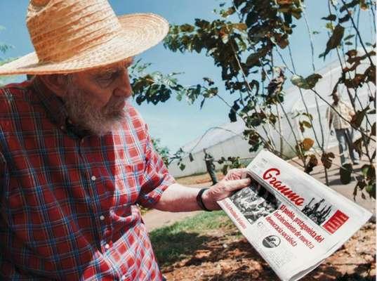 """El líder cubano Fidel Castro, que reapareció en público el sábado tras más de seis meses de ausencia, afirmó que no recuerda """"siquiera qué es un dolor de cabeza"""" y calificó como """"aves de mal agüero"""" a los que difunden """"las más insólitas estupideces"""" sobre su salud, según un escrito divulgado este lunes."""