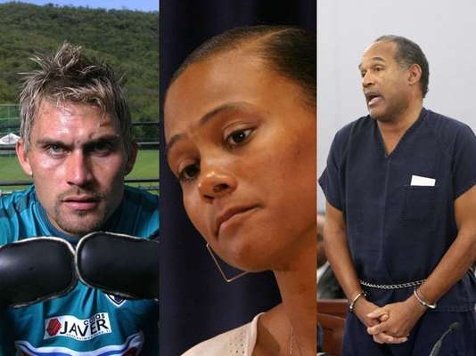 There have been many athletes who have had problems with the law and have spent days, months and even years in jail for various reasons, whether for domestic violence, homicide, illegal bets, kidnapping, possession of drugs and arms.