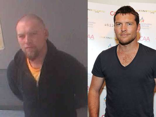"Seems like actor Sam Worthington is going through some tough times! Just check out his booking photo from the City of Atlanta Department of Corrections. This mugshot was taken after he was arrested for allegedly fighting with a restaurant doorman in ""Hotlanta,"" this weekend. (Terra USA/Dennis Pastorizo)"