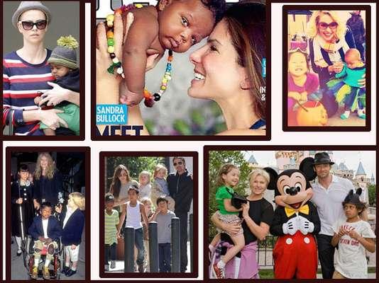 Angelina Jolie puede ser la mamá adoptiva que tiene toda la prensa que necesita, pero está lejos de ser una celebridad sólo para convertirse en una mamá a través de la adopción. Una gran cantidad de estrellas que amamos han hecho lo mismo. ¡Mira la lista de las fabulosas madres adoptivas!