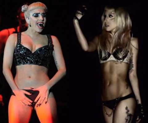 El aumento de peso de Lady Gaga ha sido considerable en los últimos meses. A pesar de ello, la cantante luce orgullosa sus kilos de más.