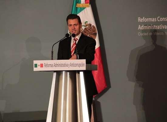 Enrique Peña Nieto, presidente electo de México, presentó las reformas constitucionales que propondrá al Congreso de la Unión en materia administrativa y anticorrupción.