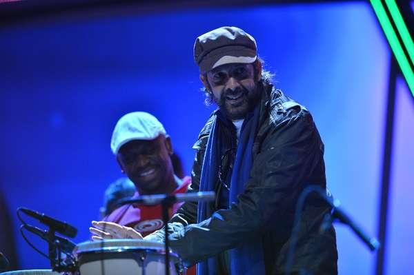 A pocas horas para que se escriba un capítulo más en el Latin Grammy, las estrellas ensayan las presentaciones que realizarán en el magno evento de la música latina, sobre el escenario del Mandalay Bay Events Center en Las Vegas.