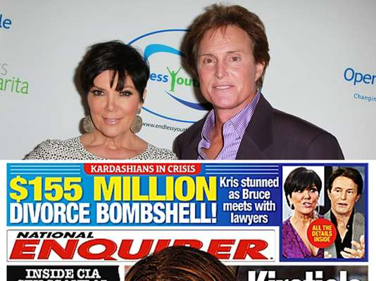 OMG! The latest edition of the National Enquirer is THE hot issue of the week.