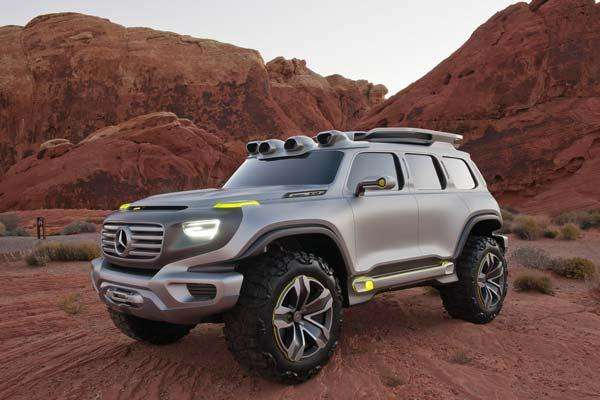 Fotos Mercedes-Benz Ener-G-Force
