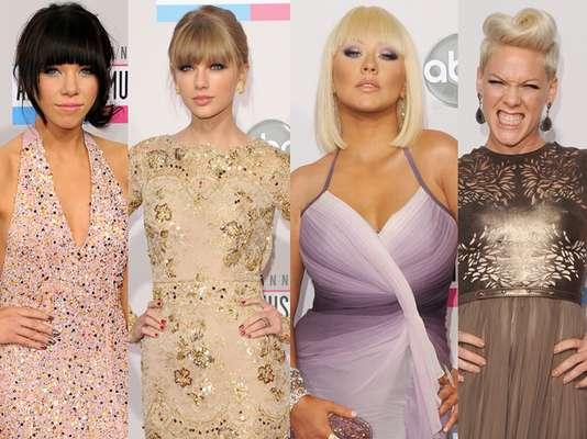 Los artistas mas importantes de la música se reunieron en Los Angeles para la entrega numero 40 de los American Music Awards 2012. La moda es uno de nuestros temas favoritos y en esta alfombra roja hubo mucha tela de donde cortar. Acompañanos a descubrir quienes fueron los peor y mejor vestidos de la noche.
