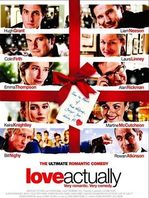 ROMÁNTICAS: Love Actually, 2003. Durante la época de navidad londinense una serie de historias se entrelazan para contar situaciones divertidas y románticas. Desde la navidad de un primer ministro hasta la de un ama de casa, una estrella de rock y un hombre recién separado, todos muestran el poder del amor.