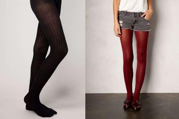 El frío y las noches de fiesta sólo nos hacen pensar una cosa: que es momento de usar medias.