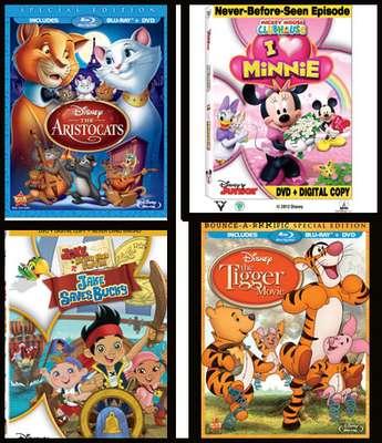 Un excelente regalo para estas fiestas... ¡Los mejores DVD para los más pequeños! ¡Imperdibles!